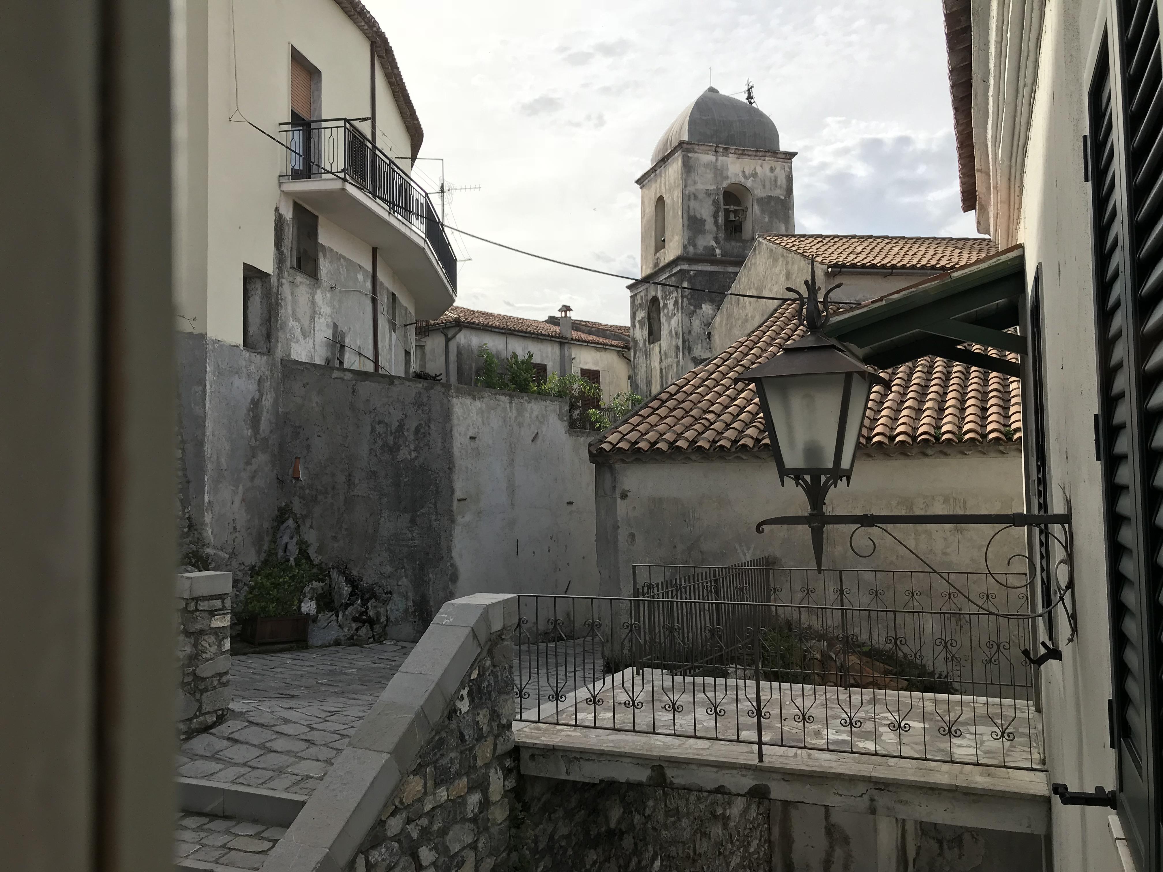 Aieta - Campanile, Via Socastro