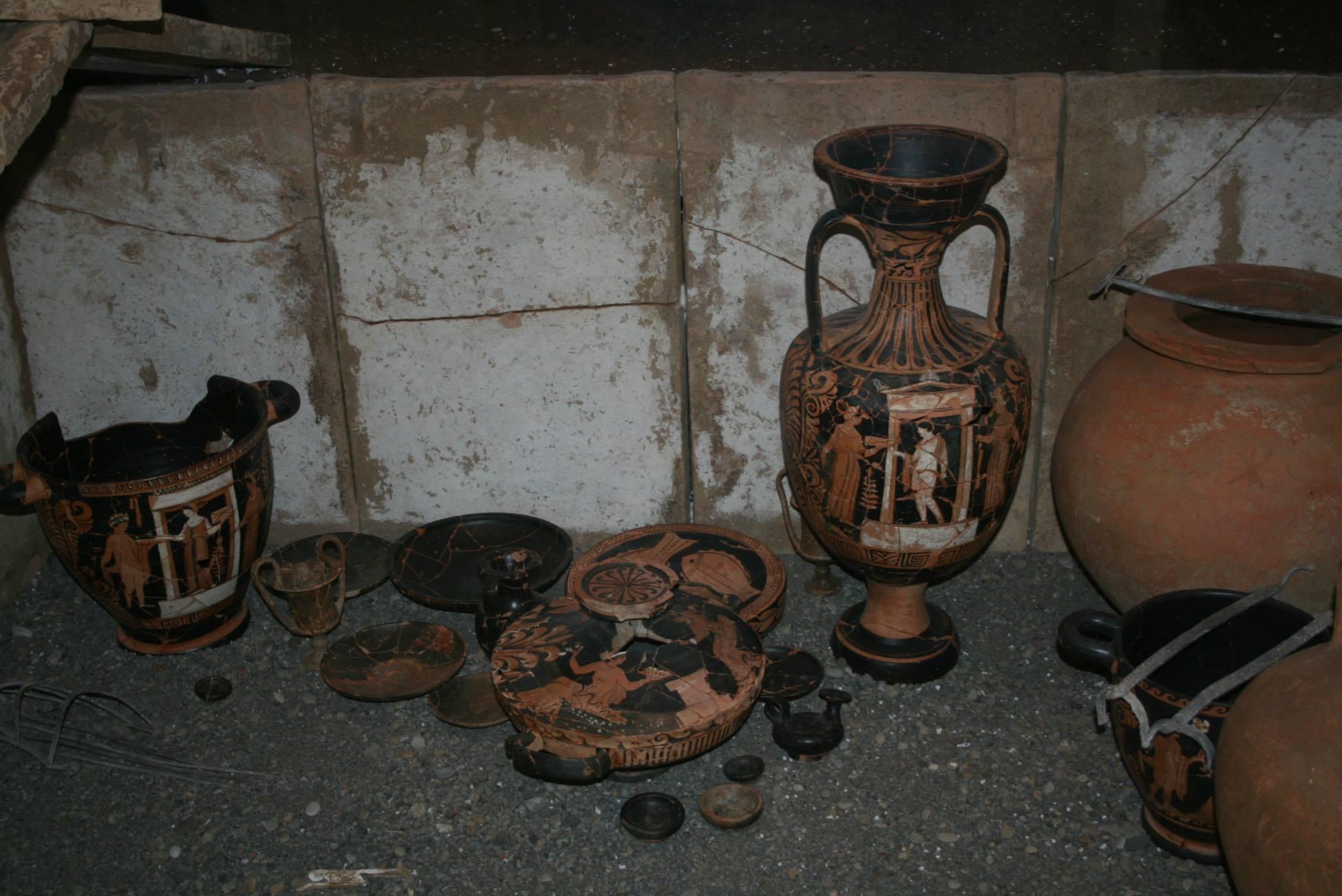 Reperti archeologi - Blanda